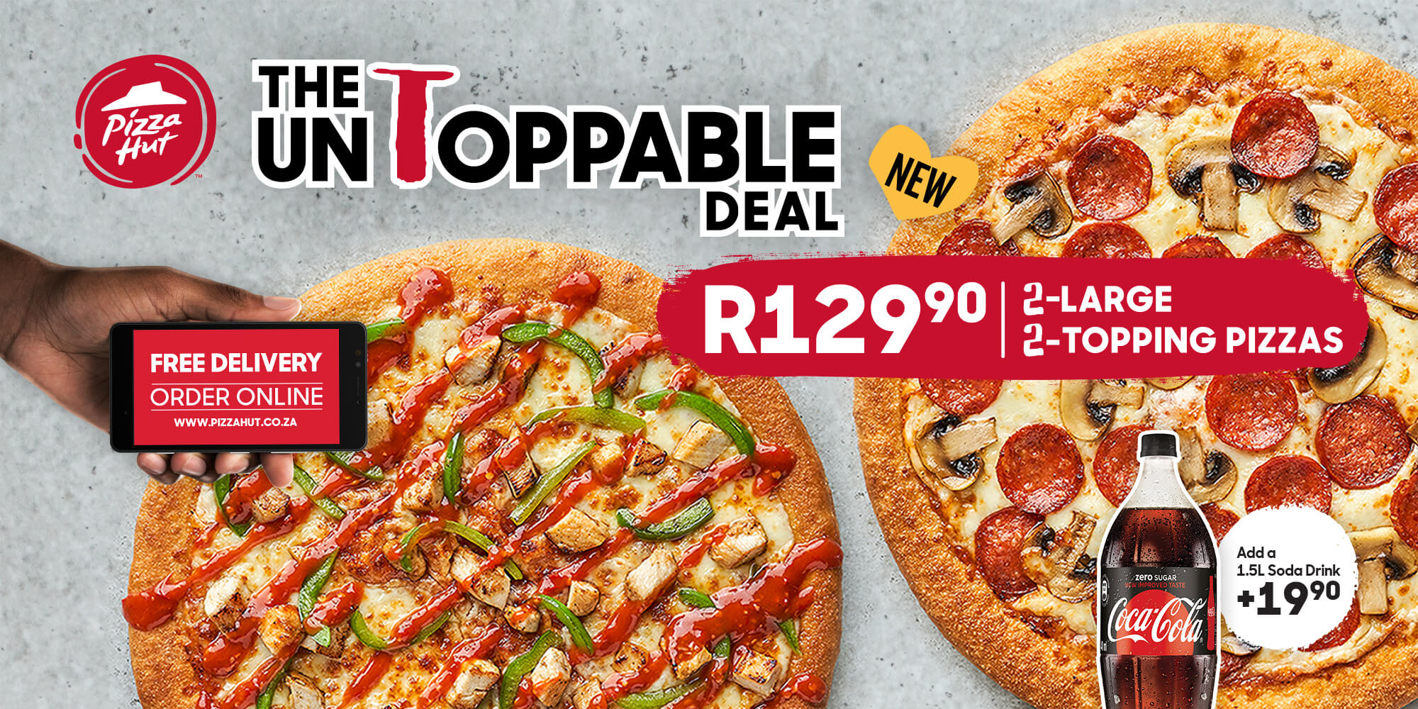 Pizza Hut South Africa Pizza Delivery Near You Order Online