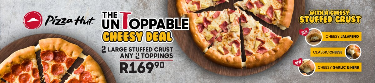 Pizza Hut South Africa | Pizza Delivery Near You | Order Online